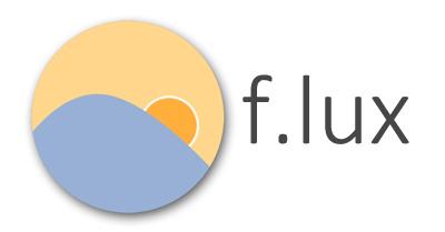 [好用推薦] f.lux – 濾藍光神器之解救長時間看螢幕的眼睛